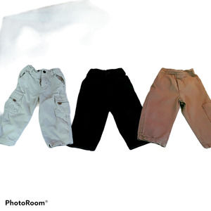 Various Brands Boys Kids 2T casual pants 3 lot